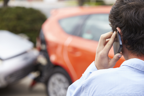 Quick tips if you're involved in an automobile accident:
